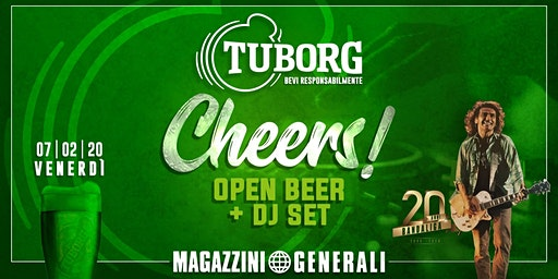Cheers! Open Beer Tuborg - Magazzini Generali