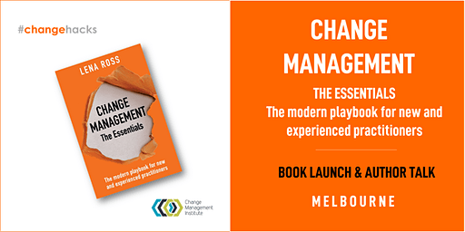 Change Management The Essentials - Book Launch & Author talk