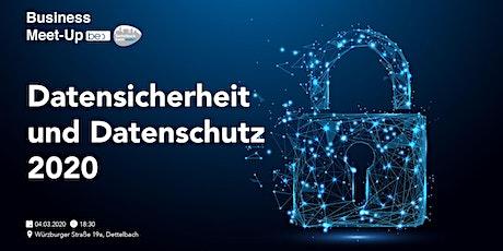 Datensicherheit und Datenschutz 2020 be content featuring Heiko Kaiser Tickets