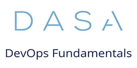 DASA – DevOps Fundamentals 3 Days Virtual Live Training in Hong Kong tickets