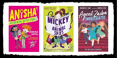 KIDSLitFEST Mystery-solving, code-cracking and daring-detectives!