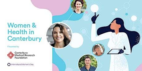 Women & Health in Canterbury tickets
