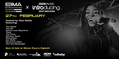 BMA Music Network Monthly - In Partnership With BBC Music Introducing WM tickets