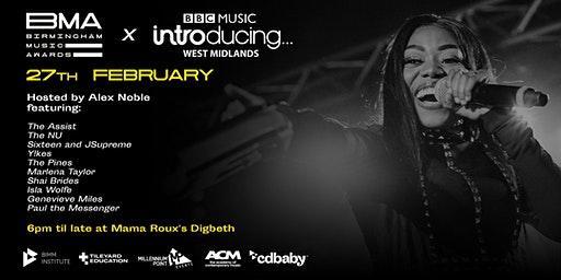 BMA Music Network Monthly - In Partnership With BBC Music Introducing WM