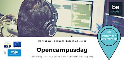 Opencampusdag Becode Antwerpen