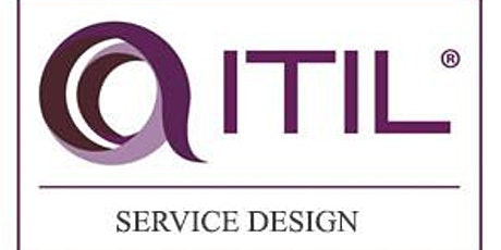 ITIL – Service Design (SD) 3 Days Virtual Live Training in Hong Kong tickets