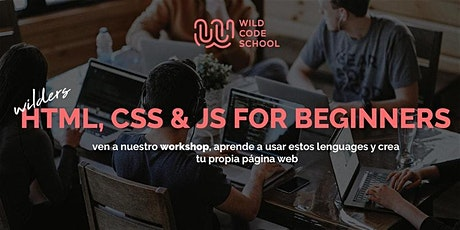 FREE CODING WORKSHOP! HTML, CSS & JS for beginners. Build your first Web App!  entradas