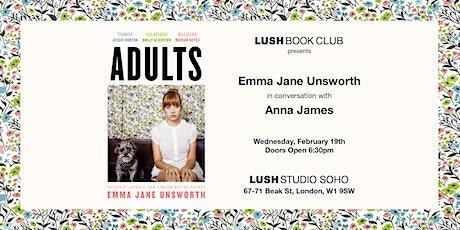 Lush Book Club presents... Emma Jane Unsworth. tickets