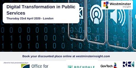 Digital Transformation in Public Services tickets