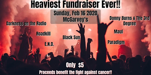 Heaviest Fundraiser Ever cuz Fuck Cancer!