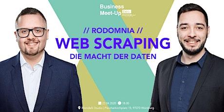 Web Scraping  – Die Macht der Daten be content featuring Rodomnia Tickets