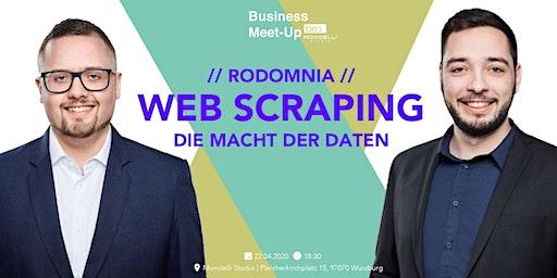 Web Scraping  – Die Macht der Daten be content featuring Rodomnia