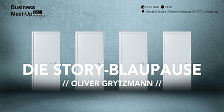 Die Story Blaupause be content featuring Oliver Grytzmann Candid Rhetorics Tickets