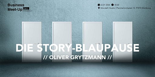 Die Story Blaupause be content featuring Oliver Grytzmann Candid Rhetorics