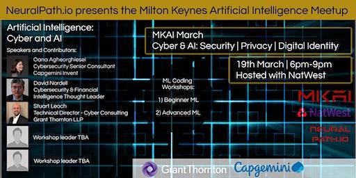 MKAI March | Artificial Intelligence Meetup | Cyber & AI: Digital Indentity