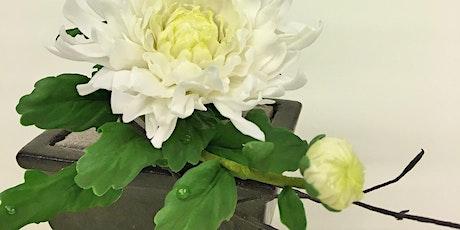 NEW - Chrysathemum - Japanese Inspired - Wired Sugar Flowers tickets