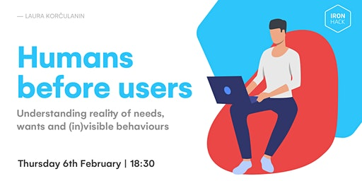 Humans before users | Talk with Laura Korculanin