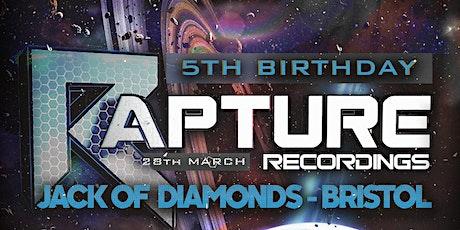 RvR Presents: Rapture Recordings 5th Birthday tickets