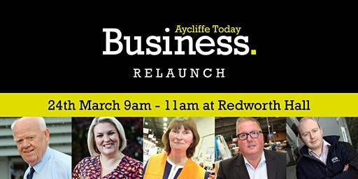 Aycliffe Business Relaunch and Panel Q & A