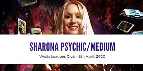Sharona Psychic/Medium @ Wests Leagues Club 9th April, 2021 7.30pm tickets