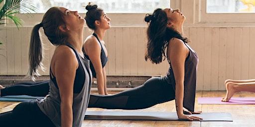 Wednesday Morning Yoga with Reshma Begum X lululemon Canary Wharf