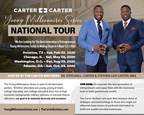 The Young Millionaires Series, Atlanta, GA tickets
