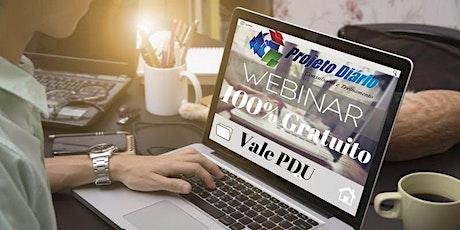 Webinar: Relatórios e Controles Personalizados no MS Project 2019 - Vale 1 PDU (Técnico) ingressos