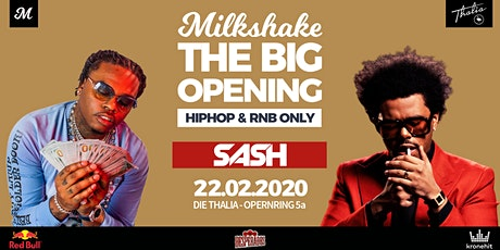 MILKSHAKE'S - THE BIG OPENING 2020 // Die Thalia tickets