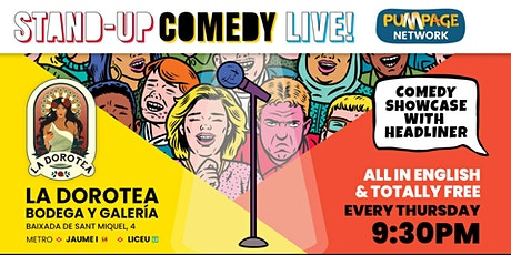 Stand-Up Comedy Live at La Dorotea tickets