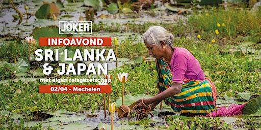 Infoavond over Sri Lanka en Japan in Mechelen - rondreizen met eigen reisgezelschap