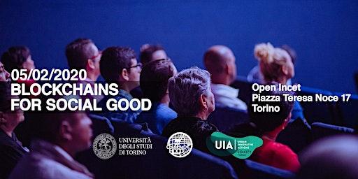 Blockchains for social good Torino