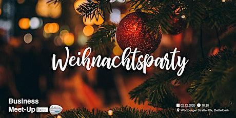 Dettelbach kann mehr! be content Meetups Weihnachtsparty Tickets