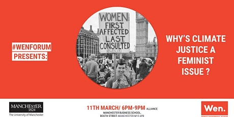 #WENFORUM presents: WHY'S CLIMATE JUSTICE A FEMINIST ISSUE? tickets