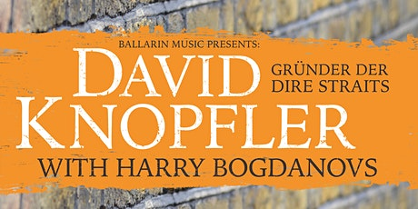 David Knopfler - Heartlands European Tour 2022 - Göttingen Tickets