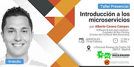 Taller presencial: Introducción a la arquitectura de microservicios - Accenture&KeepCoding entradas