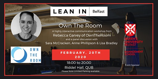 Own The Room - Becoming a confident and compelling speaker