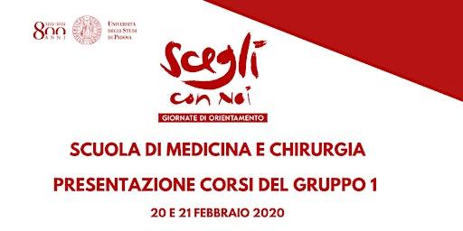 SCEGLI CON NOI - MEDICINA E CHIRURGIA - Gruppo 1