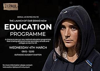 Depaul Education Programme Launch tickets