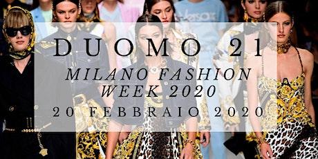 Milano Fashion Week 2020 @TerrazzaDuomo21 - AmaMi Communication biglietti
