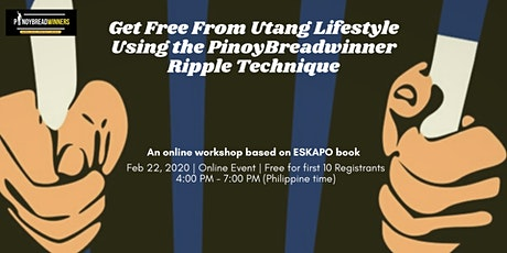 Get Free From Utang Lifestyle Using the PinoyBreadwinner Ripple Technique tickets