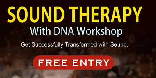 FREE Sound Therapy with DNA Activation Session