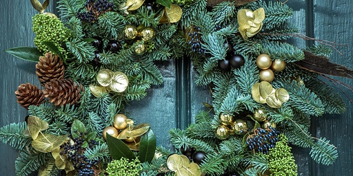 Christmas Wreath Making Workshop - Friday 11 December 2020