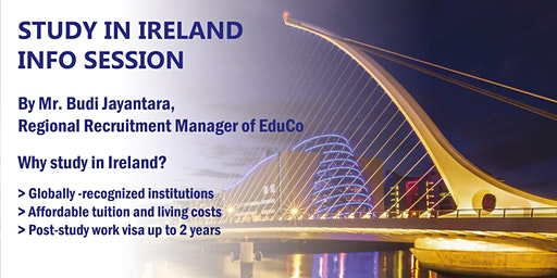 Info Session Study in Ireland