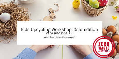 Kids Upcycling Workshop: Osteredition Tickets