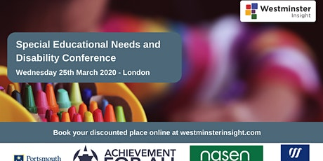 Special Educational Needs and Disability Conference tickets