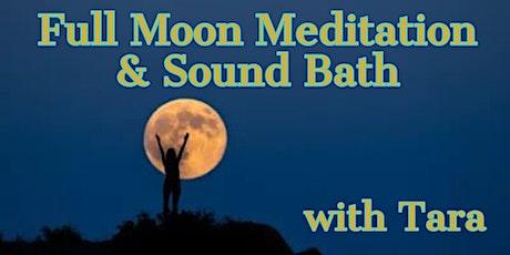 Full Moon Meditation & Sound Bath with Tara Atwood tickets