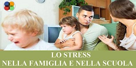 """[PALERMO] SEMINARIO GRATUITO  """"LO STRESS NELLA FAMIGLIA E NELLA SCUOLA"""" tickets"""