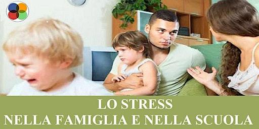 """[PALERMO] SEMINARIO GRATUITO  """"LO STRESS NELLA FAMIGLIA E NELLA SCUOLA"""""""