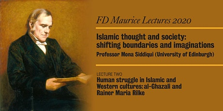 FD Maurice Lecture Series 2020 - Lecture Two, by Professor Mona Siddiqui tickets
