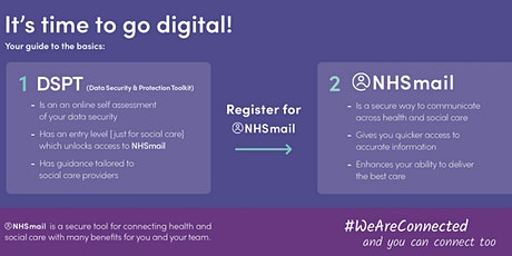 Getting Digital: The Data Security and Protection Toolkit & NHS Mail tickets